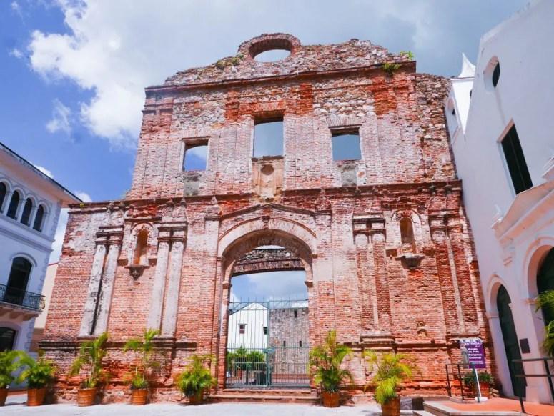 Arco Chato Casco Viejo Panama City