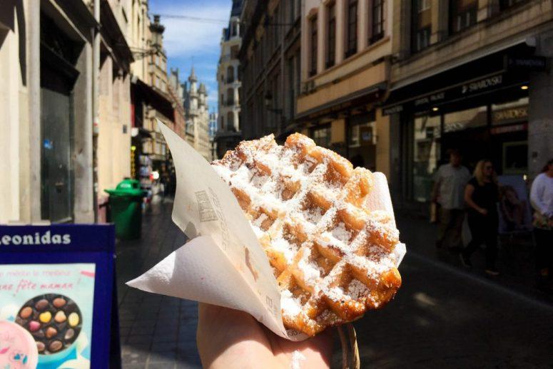 Brussels Liege Waffle