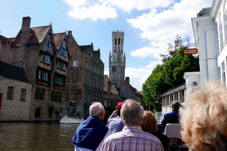 Bruges Canal Tour Belgium on a Budget