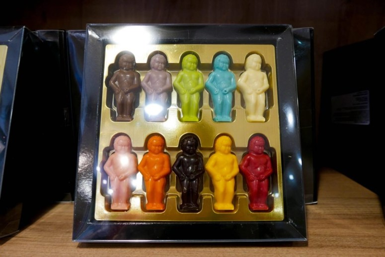 Chocolaterie Manneken Pis Brussels