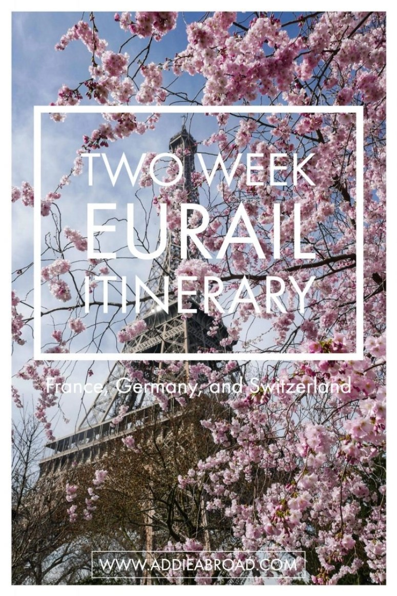 Searching for the perfect two week Eurail Interary? Look no further! Reference this post for the (not so perfect) two week Europe itinerary.