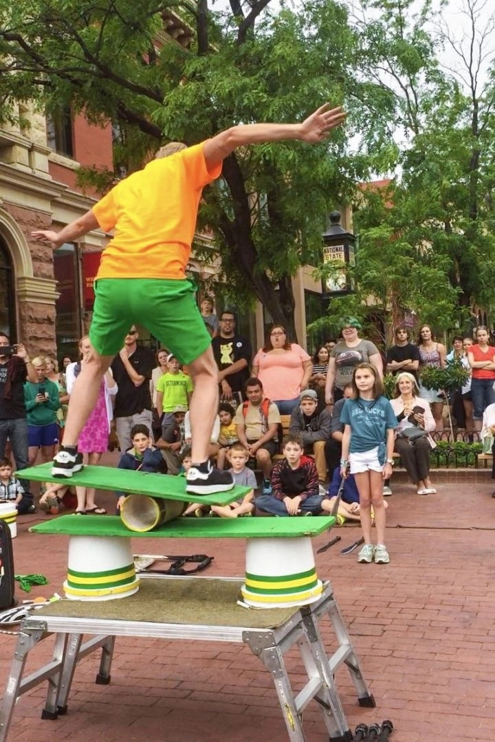 Boulder Street Performer
