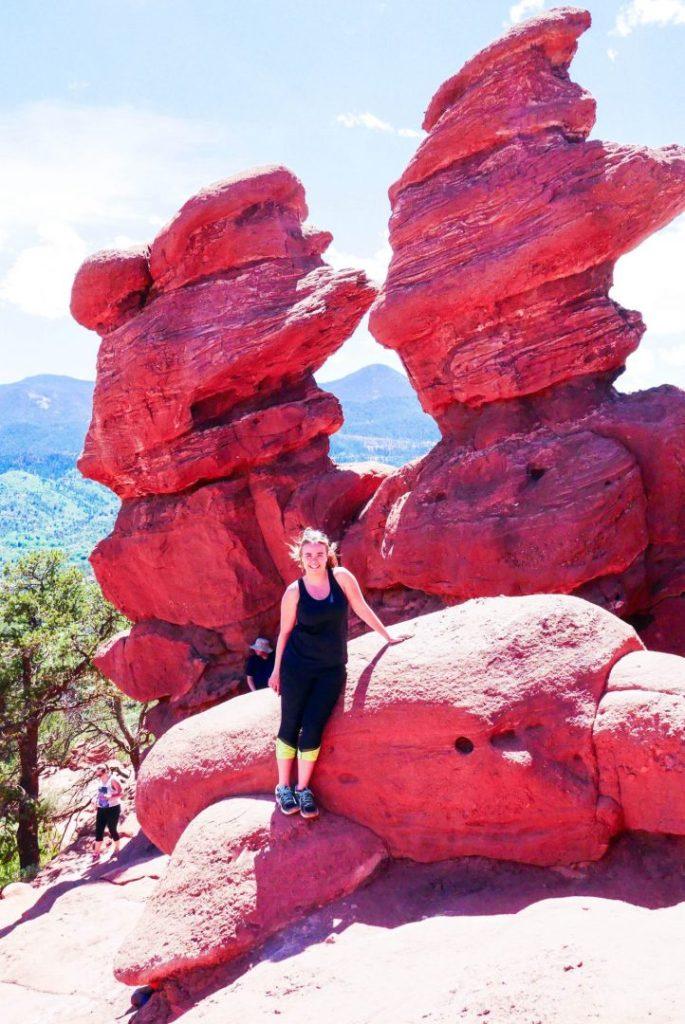 Siamese Twins Garden of the Gods Colorado Springs