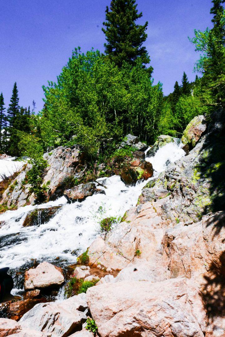 Waterfall Rocky Mountain National Park