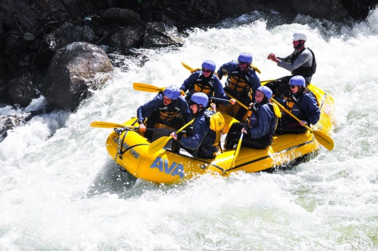 Washing Away Anxiety and Whitewater Rafting