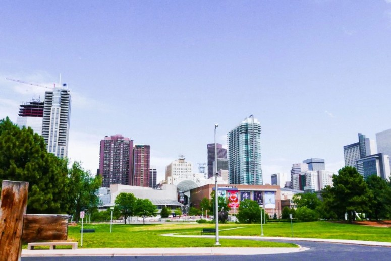 Skyline of Downtown Denver, Colordo