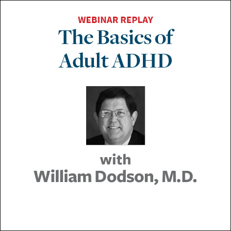 the basics of adult adhd