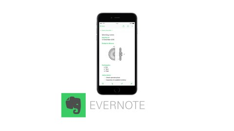 Evernote is a great app for students with ADHD