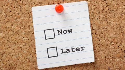 CBT teaches how to categorize tasks into urgent now and important (urgent later).