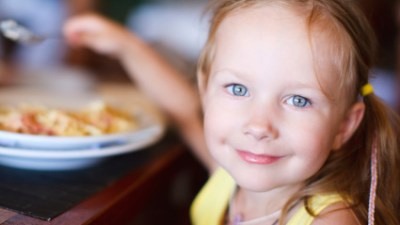 If your child isn't hungry at dinnertime but is ravenous at 8 pm, don't pick a fight. Have healthy, filling food available when she wants it — even if it doesn't fit into your family's schedule.