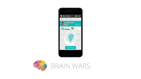 This image shows the ADHD app Brain Wars, which is great improving memory and focus