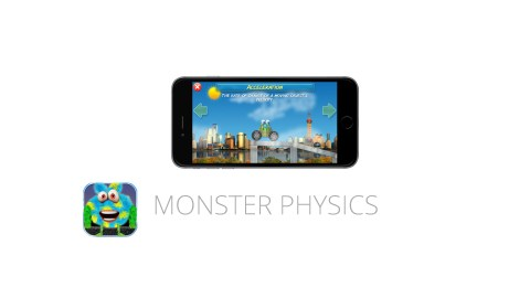 Monster Physics is a great app for kids with ADHD
