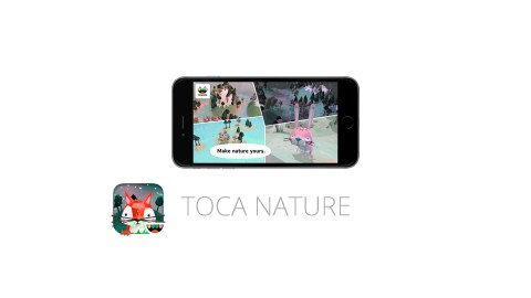 Toca Nature is a great app for kids with ADHD
