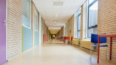 New classrooms and academic hallways, which parents should explore with their children before school starts.