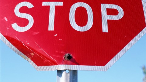 Red stop sign. How do you know you have ADHD? Red always means stop and wait.