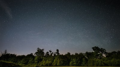 A good night's sleap and clear night sky