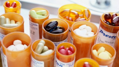 Assortment of different types of ADHD Medication in vials