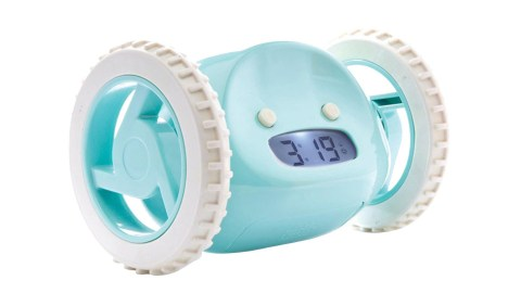 The clocky alarm helps people with ADHD with time management.