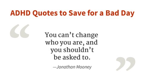 """You can't change who you are."" - Jonathan Mooney"