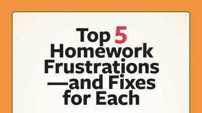 Top Homework Frustrations and Fixes