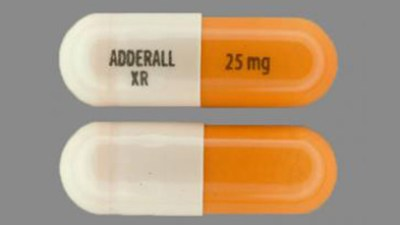 Adderall XR, a medication used to treat symptoms of ADHD