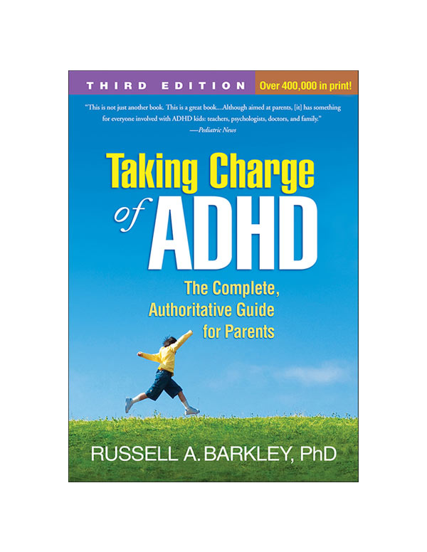 Taking charge of adhd book