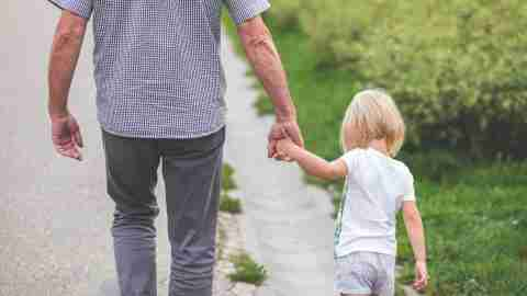 Dad walks with ADHD, planning ahead