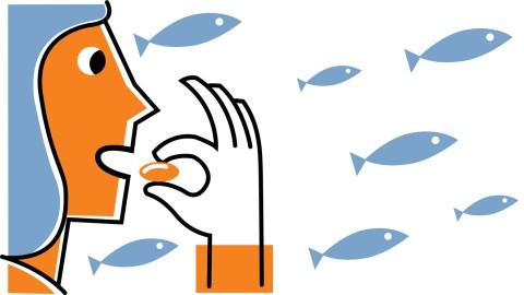 Fish oil supplement for managing ADHD symptoms