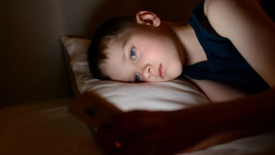 Boy with ADHD has sleeplessness