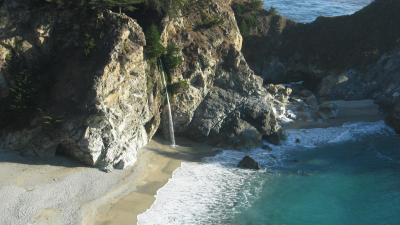 Beach at Big Sur, CA