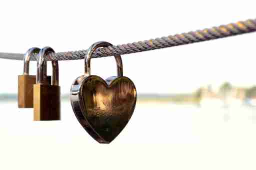 Locks hanging on a wire, representing the mysterious ADHD nervous system