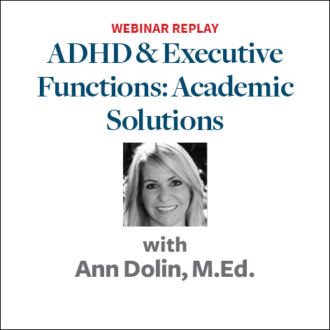 adhd and executive functions academic solutions