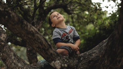 My son with ADHD struggles to focus in school, but is intrigued by the leaves of trees and blades of grass.