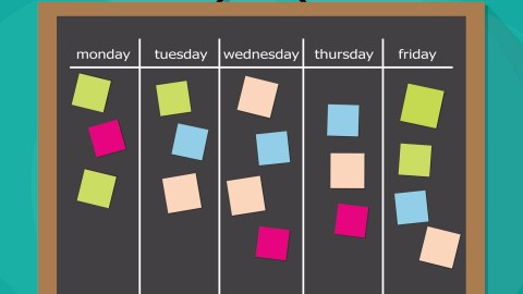 Use This Sample Schedule With Kids with ADHD / ADD