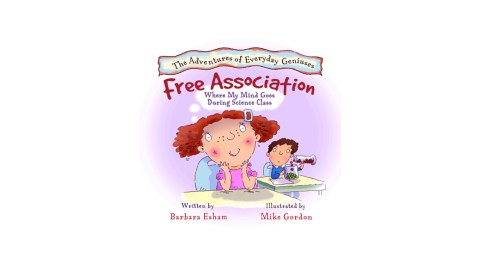 Free Association's Where My Mind Goes During Science Class is a great book for ADHD children to read
