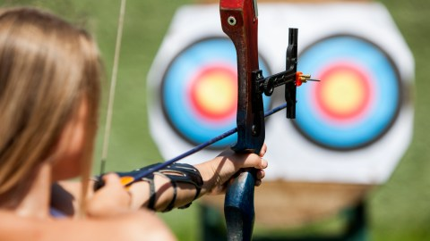 Sports and activities for kids with ADHD: archery