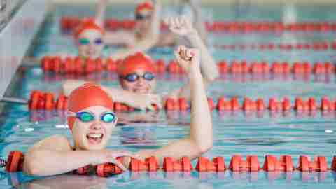 Sports and activities for kids with ADHD: swimming.