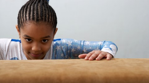 Sports and activities for kids with ADHD: gymnastics and balance beam