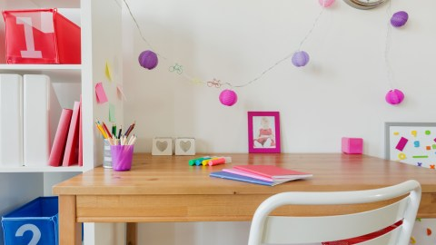 Create a study area to help combat poor executive function.