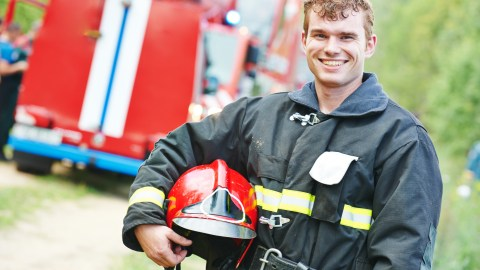 An emergency first responder fire fighter with ADHD.