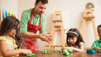 An adult with ADHD explains why she loved working as a daycare preschool teacher who makes creative projects with kids.