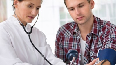 ADHD adults should have a thorough physical and have their blood pressure checked before beginning any new medication. But the idea that hypertension precludes taking ADHD medication is a myth. In fact, there are medications for ADHD that lower blood pressure -- like guanfacine -- that can be used as an alternative to, or in conjunction with, stimulants.