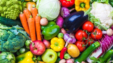 Fresh vegetables and fruits are good for people with ADHD to eat