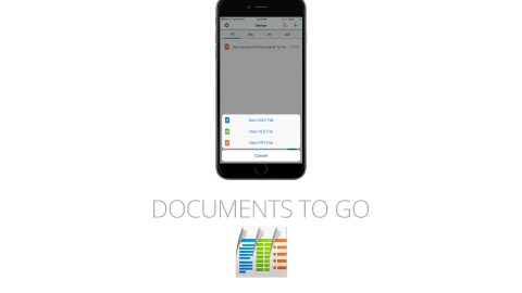 Documents to Go is a great app for students with ADHD