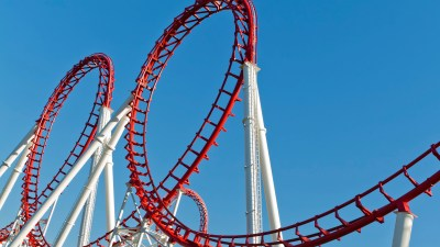 A rollercoaster is a good metaphor for the effects of adhd on marriage.