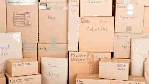 Labeled storage containers can dramatically cut down on the amount of time needed to find something, simplifying your life.
