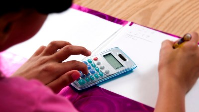 One way to improve math skills is to consider using a calculator to avoid basic calculations and focus on mastering concepts.
