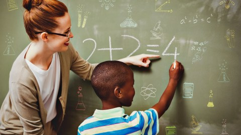 One strategy for improving classroom behavior is to allow fidgety students to move around by asking them to answer a question or clean the blackboard.