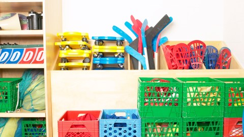 A good cleaning tip is to keep all related items together and in their own specific location.