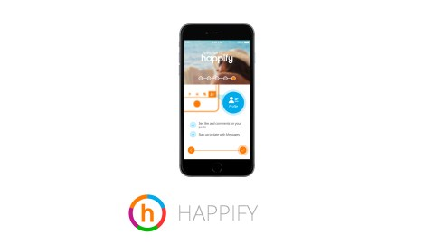 This image shows the ADHD app Happify, which is great for improving emotional intelligence